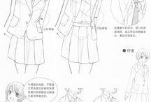 Cloths-Anim-Sketch-Style