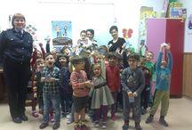 Zona copiilor / Informare preventivă I.G.S.U. și materiale educative, jocuri copii.