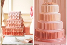 Ombre Wedding Cakes / Ombre wedding cakes are popping up everywhere and are one of the top wedding cakes for this season, and although we're a big fan of plain wedding cakes we've got to admit that when you bring into the mix other wedding cake trends like ombre, fashion inspired or hand-painted details these gorgeous fluffy confections just kicks it off to another level, and we can't say we mind one bit.