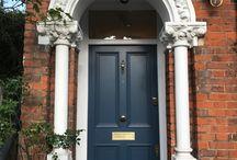 London doors / Most beautiful London doors made by Bespoke Front Door company