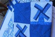 Blue, blue and more blue! / Delft blue, cobalt blue...I love! / by Ellen Price