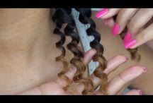 Merisa Curly hair