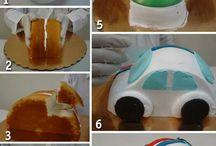 tutorial cake ultah