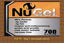 Australia Beef Hydrolysate Gelatin / https://nustrength.com.au/product/nugel-700g/