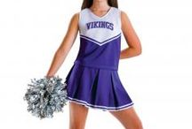 Cheer UP / cheer uniform, cheer bag, all star uniforms, megaphone, pom-poms, practice wear, cheer basic wear / by danzia.com