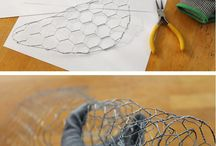 diy chicken wire ideas