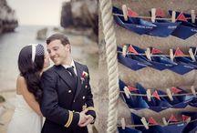 Mariage marin, mer, plage... / Inspirez-vous de nos idées d'ambiance pour créer un mariage sur le thème de la mer qui sorte de l'ordinaire.