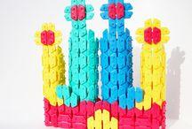 Klocki / Klocki - kolorowe, drewniane, silikonowe, plastikowe - zawsze inspirujące, nagradzane, najwyższej jakości.