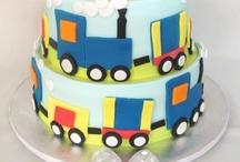 Miles 1st birthday cake / by Hannah Wright