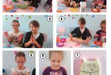 Ciuciubabkowe rękodzieło / Prezenty na szczególne okazje, dekoracje, ozdoby - wszystko to co dzieci mogą wykonać samodzielnie.