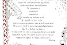 Poem, quote and zentangle