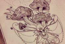 desenho psicodélico