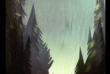 Forest - illustration