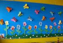 Virágok, lepkék, bogarak (tavasz)