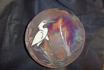 CERAMICA / Ceramiche realizzate con tecnica -RAKU- -NAKED- -COPPERMATT- TERRA SIGILLARA-