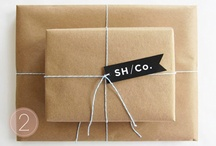 packaging, paper, and printables / by Heather Clark