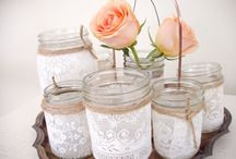 DIY rustic decorations
