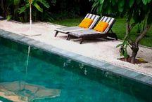 Tatil / Havuz deniz güneş kısacası huzur