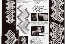 Puntas eb crochet