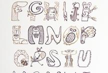 Typography / Examples of differnt type alphabet