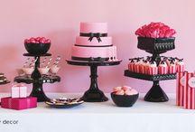 PARTY THEME - Pink & Black