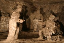 SALT MINE WIELICZKA / The historic Salt Mine in Wieliczka is the only mining site in the world functioning continuously since the Middle Ages. http://www.krakow-tours.pl/tours,7.html