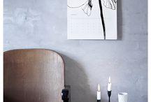 12 FLOWERS / 2015 Calendar by Toril Bækmark