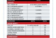 Eight week exercise