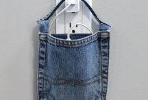 Ipod of iphone oplader van levi's jeans