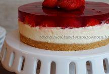 Culinária - Semi-Frios (Cheesecake)