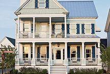 My Coastal Living Ultimate Beach House. / by jules mcnubbin