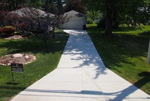Concrete Driveways / Cement driveways Cleveland Ohio  / by Angie Benitez