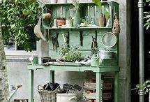Pallets for Plants etc