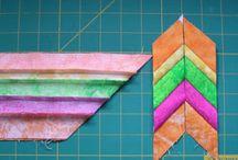 Seminoles, log cabine e foudation / Trabalhos patchwork  ideias