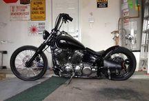 motos bobber yamaha