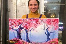 Мастер классы живописи в Москве