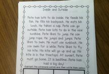 First Grade Literacy / by Misty Prichard
