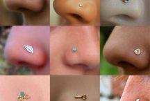 Кольца в нос