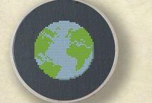 Transform into cross stich / embroidery