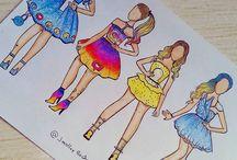 Sosyal medya çizimleri