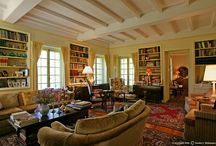 redesign ideas - library living room