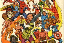 Comics / by Jesús Ademir Morales Rojas