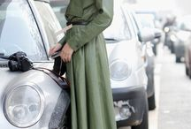 on the streets / street style snaps of the best of the best / by Anna Hart / South Molton St Style