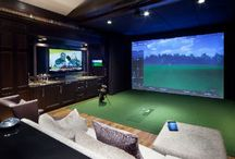 Home Theater  / Awesome Home Theaters & Ideas / by sync'd Home