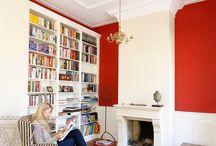 Plafond stucwerk / Plafonds met stucwerk sierlijsten en ornamenten.