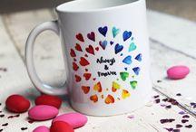 Mug Inspiration / Mugs from Crafty Cow Design!