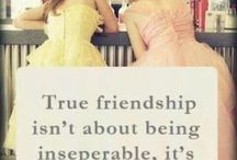 friendships board / quotes