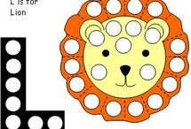 Lion Early Learning Printables and Ideas