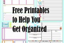 GET ORGANIZED! / 'Cause I need organization skills in my life. / by Christine Perron