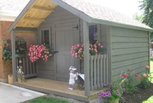 Great Outdoors ~ Sheds